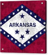 Arkansas Flag Acrylic Print