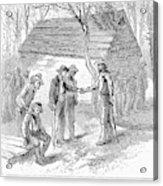 Arkansas Hot Springs, 1878 Acrylic Print