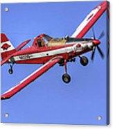Arkansas Razorbacks Air Tractor Acrylic Print
