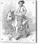 Arkansas Traveler, 1878 Acrylic Print