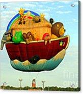 Arky Hot Air Balloon Acrylic Print