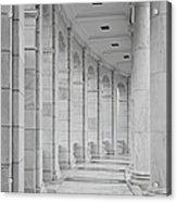 Arlington Amphiteather Arches And Columns Acrylic Print