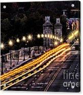 Arlington Bridge And Cemetery Acrylic Print