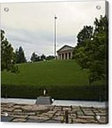 Arlington Cemetery Eternal Flame Acrylic Print
