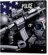 Arlington County Police Acrylic Print