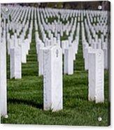 Arlington National Cemeterey Acrylic Print by Susan Candelario