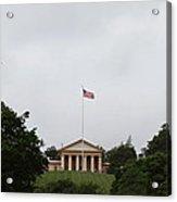 Arlington National Cemetery - Arlington House - 01131 Acrylic Print