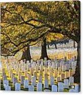 Arlington National Cemetery Washington Dc Acrylic Print