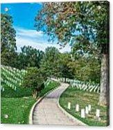 Arlington National Cemetery Part 2 Acrylic Print