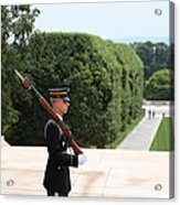 Arlington National Cemetery - Tomb Of The Unknown Soldier - 01135 Acrylic Print by DC Photographer