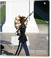 Arlington National Cemetery - Tomb Of The Unknown Soldier - 121210 Acrylic Print by DC Photographer