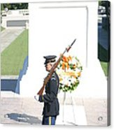 Arlington National Cemetery - Tomb Of The Unknown Soldier - 121214 Acrylic Print
