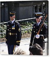 Arlington National Cemetery - Tomb Of The Unknown Soldier - 121222 Acrylic Print by DC Photographer