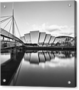 Armadillo Glasgow Scotland Acrylic Print by John Farnan