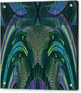 Armadillus Rex Acrylic Print