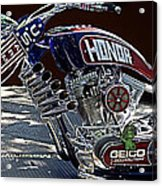 Armed Forces Tribute Bike Acrylic Print