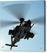 Armed Longbow Apache Helicopter In Acrylic Print