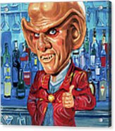 Armin Shimerman As Quark Acrylic Print by Art