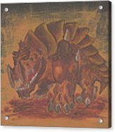 Armored Beast Acrylic Print