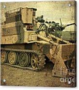 Armoured Power  Acrylic Print