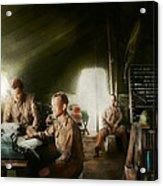 Army - Administration Acrylic Print