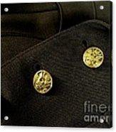 Army Brass Acrylic Print