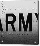 Army Strong Acrylic Print