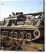 Army Tank Acrylic Print