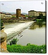 Arno River 1 Acrylic Print