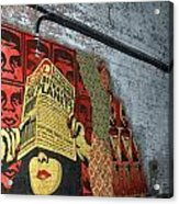 Arnolds And Graffiti Andre The Giant Has A Posse Acrylic Print