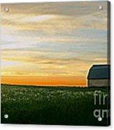 Aroostook Sunset Acrylic Print