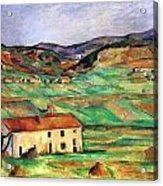 Around Gardanne By Cezanne Acrylic Print