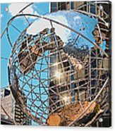 Around The World In Nyc Acrylic Print