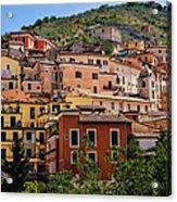 Arpino City Acrylic Print