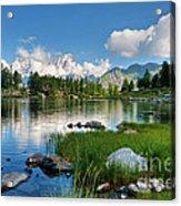 Arpy Lake - Aosta Valley Acrylic Print