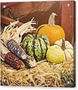 Arrival Of Autumn Acrylic Print