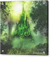 Arrival To Oz Acrylic Print by Mo T