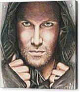 Arrow/ Stephen Amell Acrylic Print