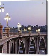 Arroyo Seco Bridge Pasadena Acrylic Print