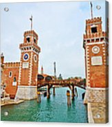 Arsenale Venice Acrylic Print