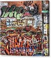 Art Alley Acrylic Print