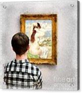 Art Appreciation Acrylic Print