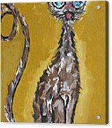 Cat Art Acrylic Print