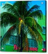 Art Deco Boulevard Hotel Miami Acrylic Print