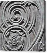 Art Deco Detail Acrylic Print