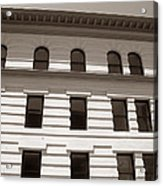 Out Of Line - Art Deco In San Francisco Acrylic Print