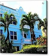 Art Deco Hotel In Miami Beach Acrylic Print