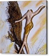 Art Deco I Acrylic Print by Brenda Almeida-Schwaar