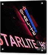 Starlite Hotel Art Deco District Miami 3 Acrylic Print