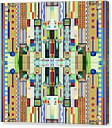 Art Deco Stained Glass 2 Acrylic Print